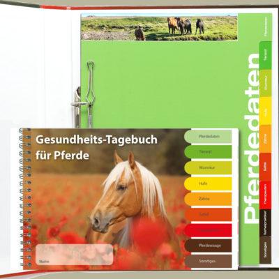 Tagebuch für Pferde und Organizer