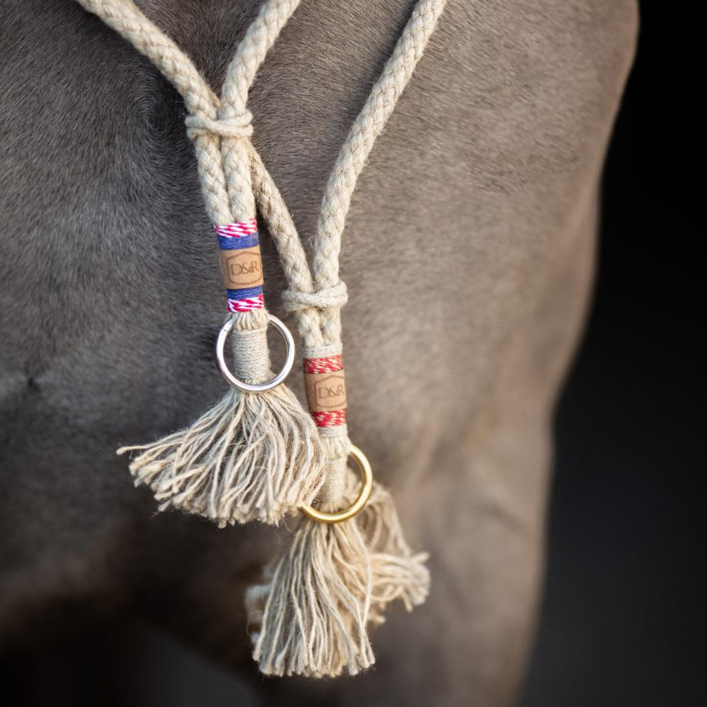 Halsring für Pferde, Freiarbeitslonge