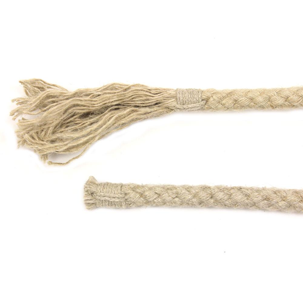 Seil-Ende für Longen, Führstricke und Bodenarbeitsseile: Takel und Bommel