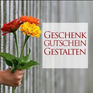 Dauberg&Roth-Geschenk-Gutschein gestalten