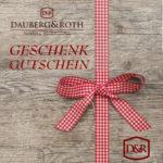 Gutschein Dauberg&Roth